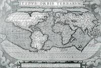 Карта на света от Ортелиус