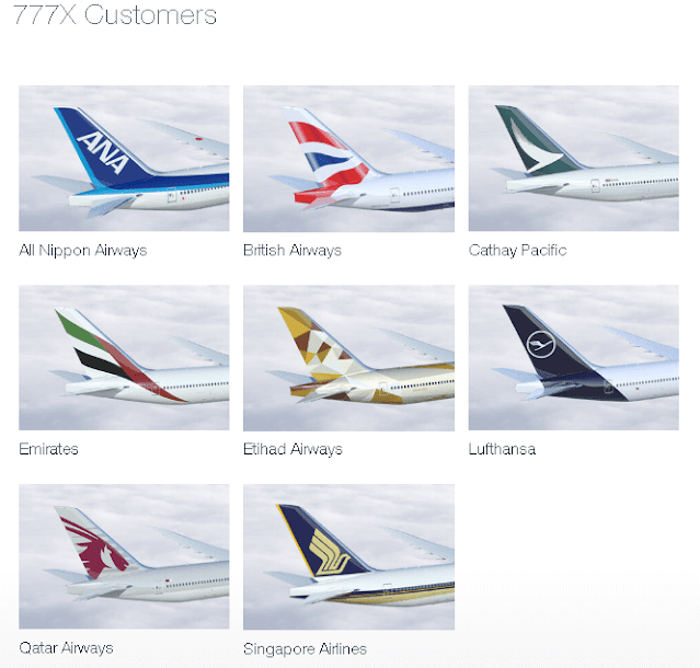 airlines and boeing 777x