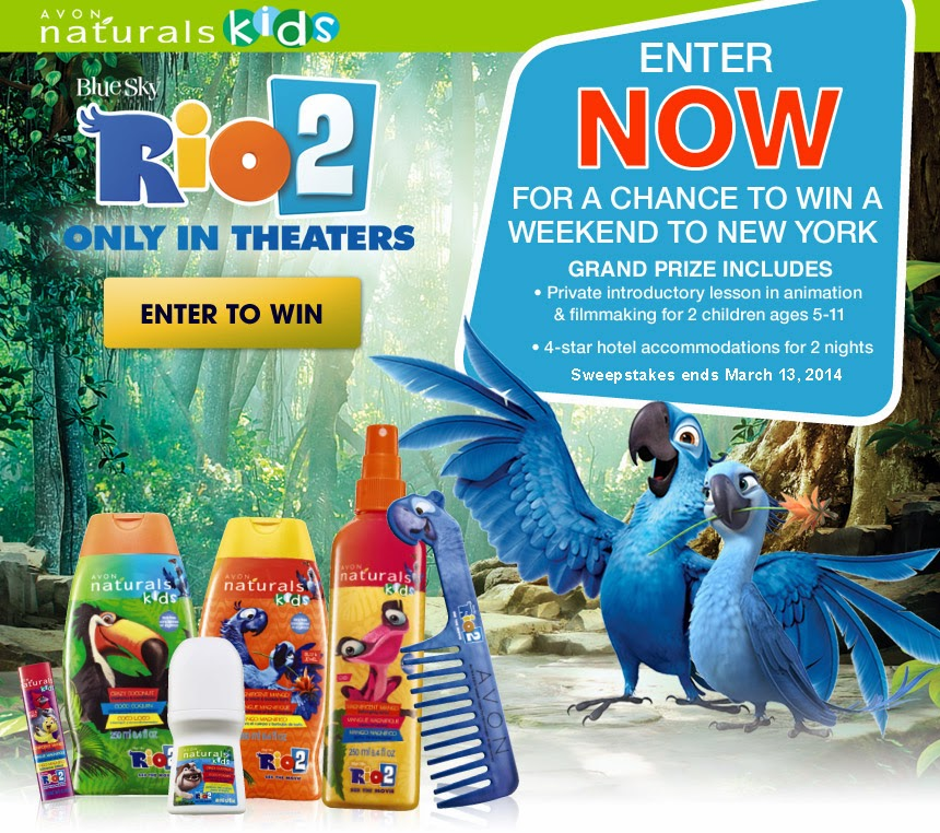 19218c9ea7175 The Avon Naturals Kids Rio 2 Collection is Available Now for a Limited Time
