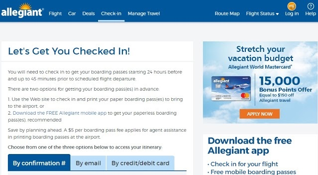 Why You Should Use an Allegiant Boarding Pass!