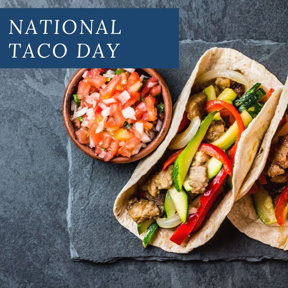 National Crunchy Taco Day Wishes Unique Image