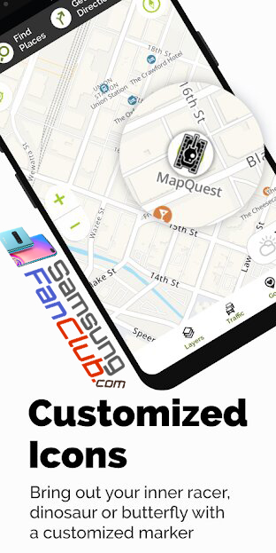Download MapQuest Android Maps & GPS Navigation App for Samsung Phones