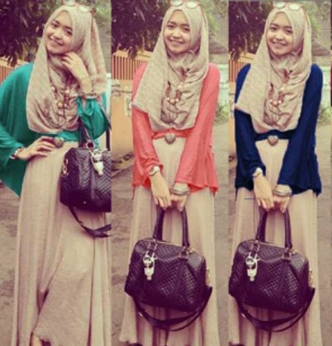 model baju muslimah masa kini