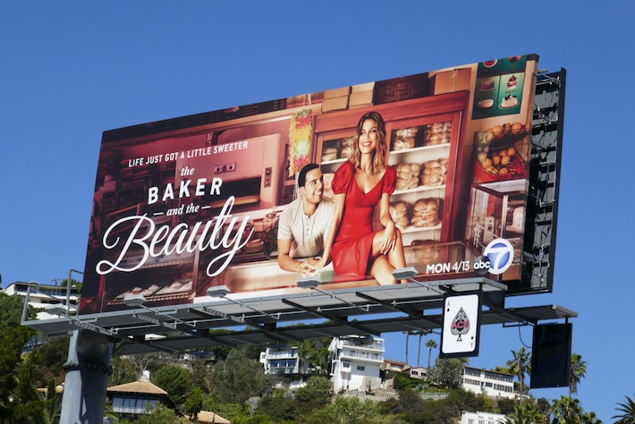 Baker and Beauty series premiere billboard