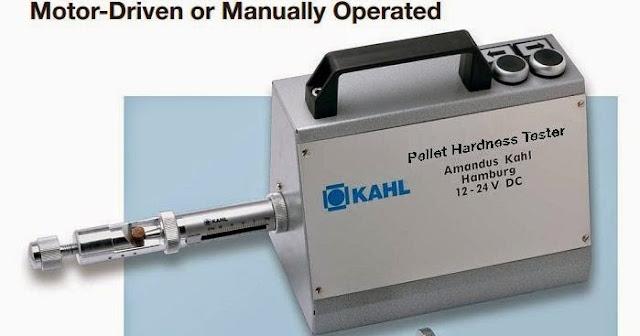 máy đo độ cứng viên , k3175 - 0011, kahl - đức ,