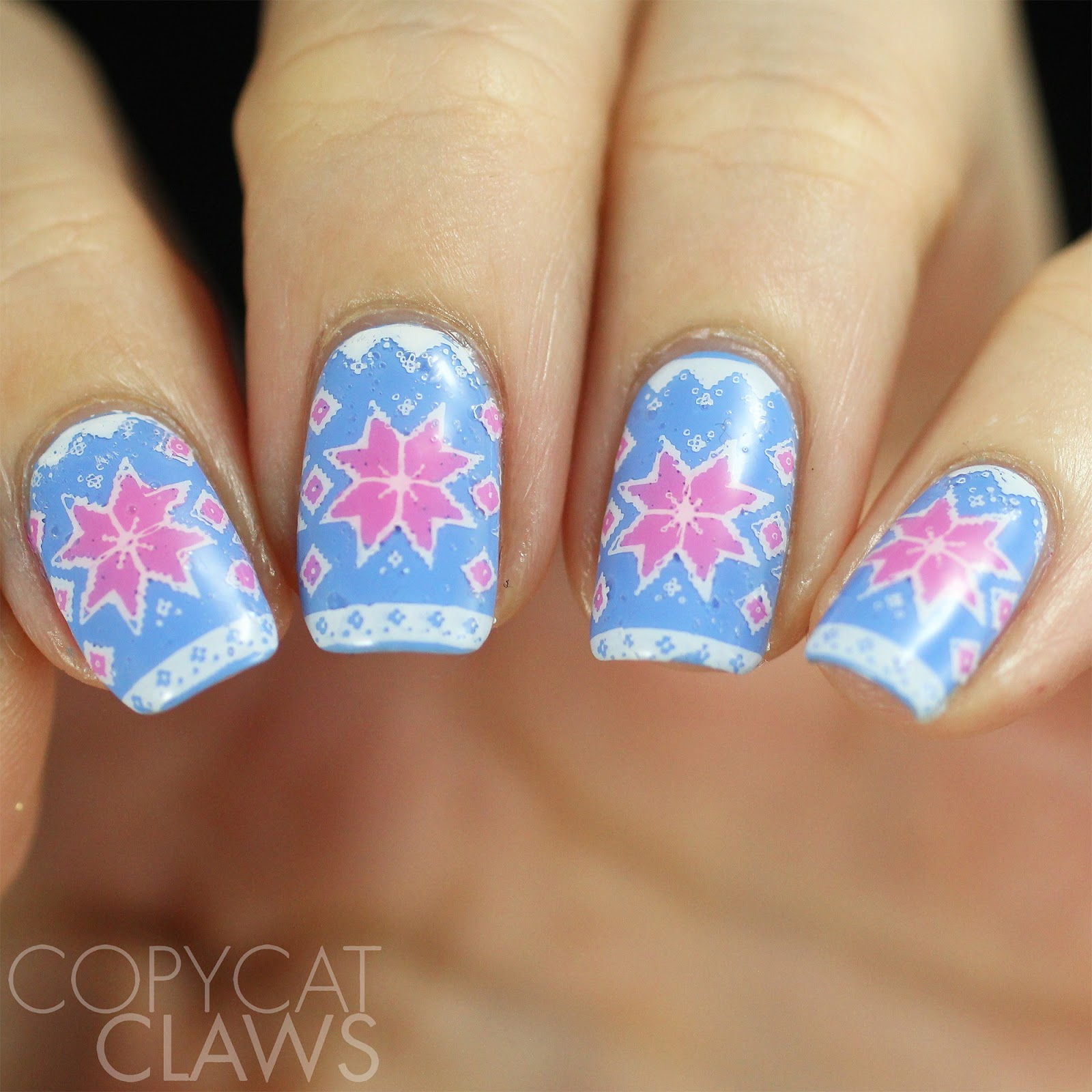 Copycat Claws: Nail Crazies Unite - Ugly Sweater