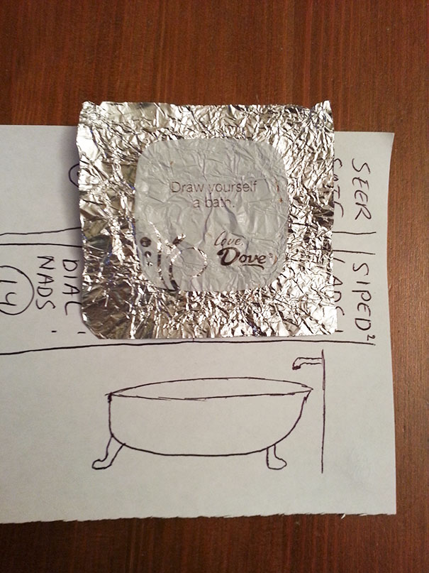50 Hilarious Photos Of People Who Took Instructions Too Literally - I'm Not Very Good At Drawing, But I Hope This Suffices