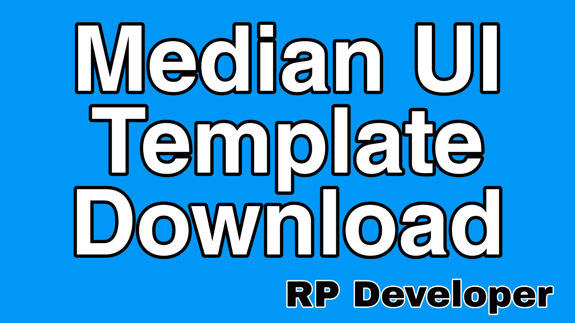 Median UI Premium Blogger Templates Free Download
