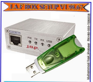 JAF Box Full Setup Latest Version V1.98.67 With Driver Download Frexe