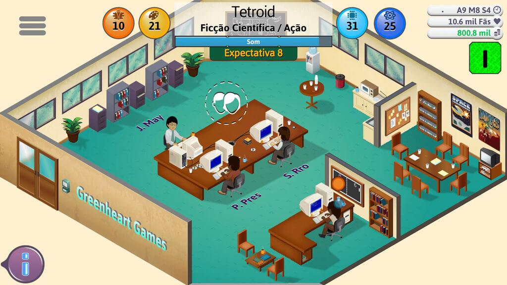Game Dev Tycoon APK MOD Pesquisa Grátis v 1.6.3