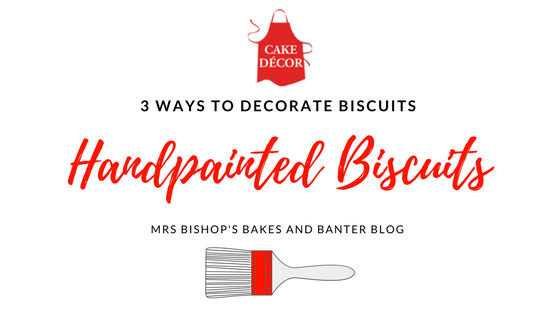 Handpainted Biscuits using Cake Decor Artist Pens and Wilton Gel Colours