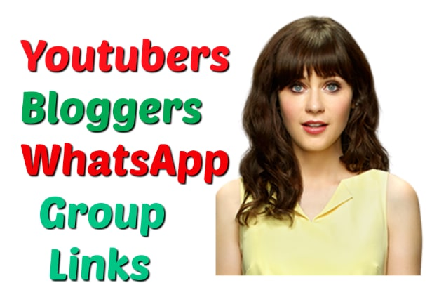 youtubers whatsapp group link