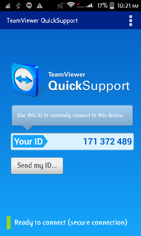teamviewer android app