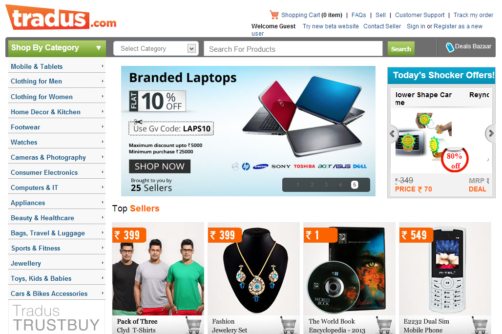 Online Shopping Guide Top Online Shopping Sites India