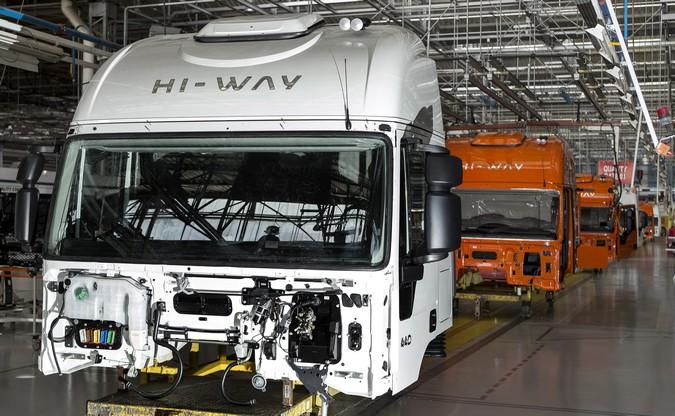 Produção de caminhões cresce 25% no primeiro bimestre do ano