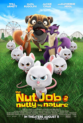The Nut Job 2 (2017) Dual Audio Hindi 720p BluRay 750MB