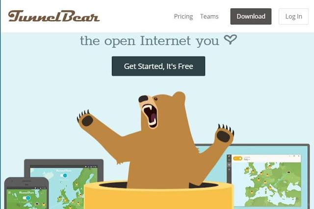 15 Rekomendasi Layanan VPN Gratis Terbaik - Rekomendasi layanan vpn gratis terbaik tunnelBear