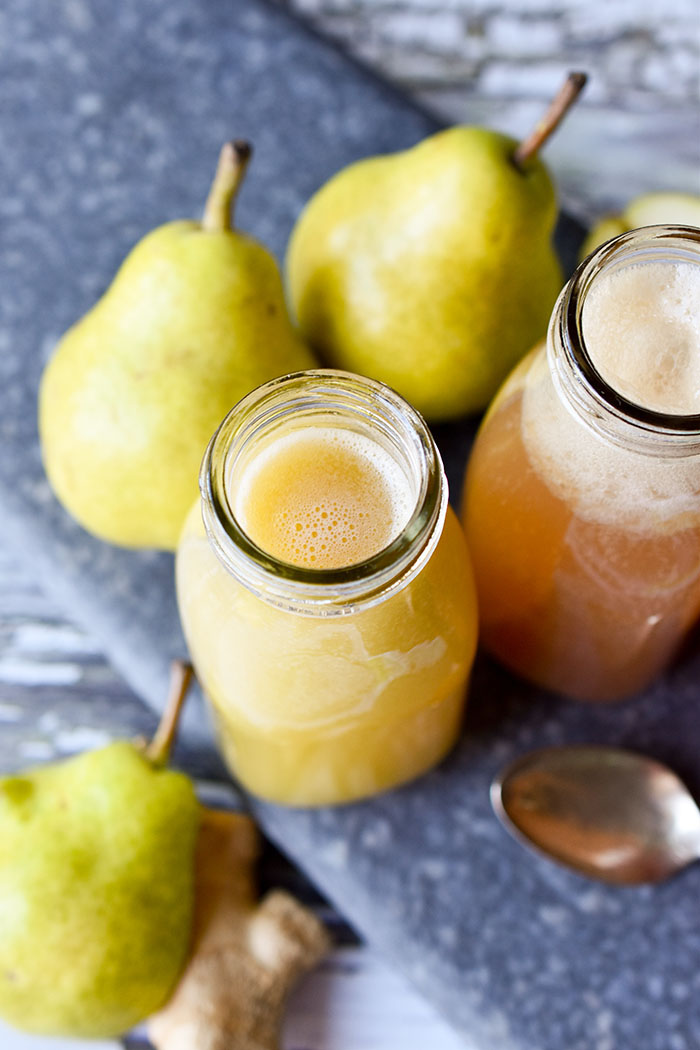 Pear Ginger Juice