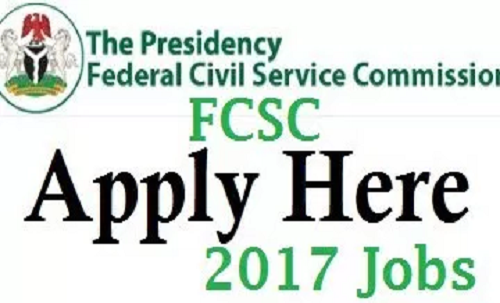 Image result for Federal Civil Service recruitment 2017/2018