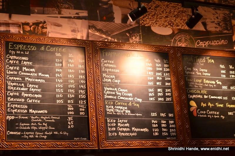 Starbucks coffee now in Chennai at Pheonix Market City