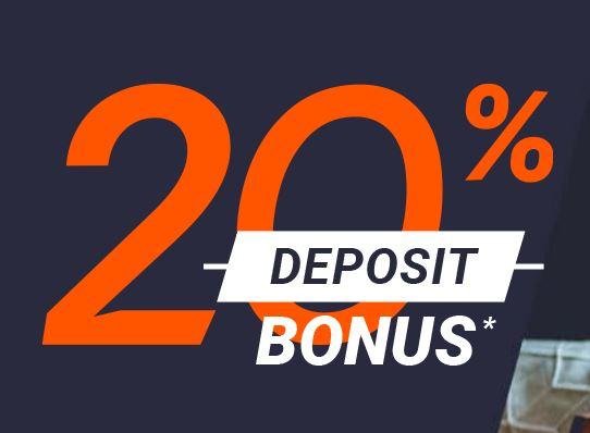 GO Markets 20% Deposit Bonus