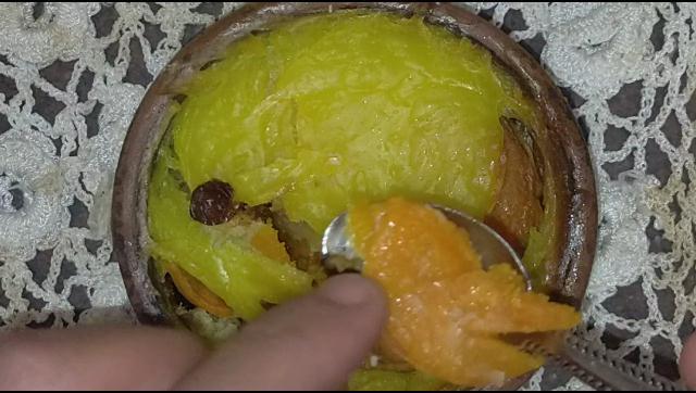 احلي و اطعم برام بطاطا بالكاسترد و المكسرات الشيف محمد الدخميسي