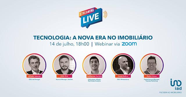 iad Portugal reúne especialistas para discutir o impacto da tecnologia no setor imobiliário