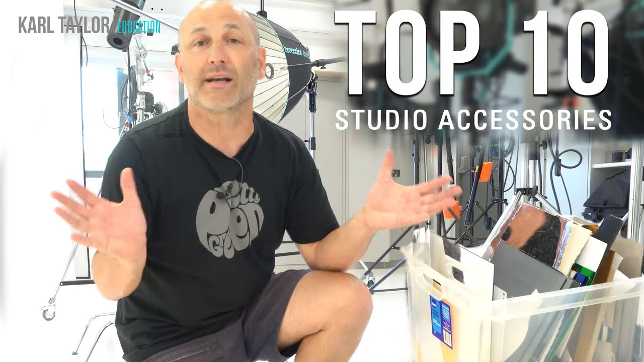 Karl Taylor´s Top 10 Essential Photography Studio Accessories