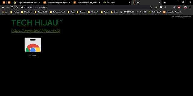 Tech Hijau™ - Sudah Lama Hapus Aplikasi Chrome (Chrome Apps)