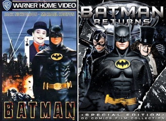 Batman (1989) y Batman Returns (1992) de Michael Keaton
