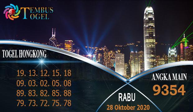 Angka Mati Togel Hongkong Hari Rabu 28 Oktober 2020