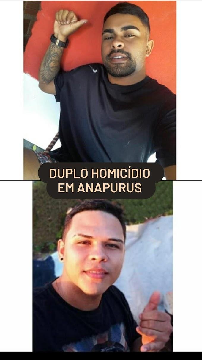 Urgente! Duplo homicídio em Anapurus