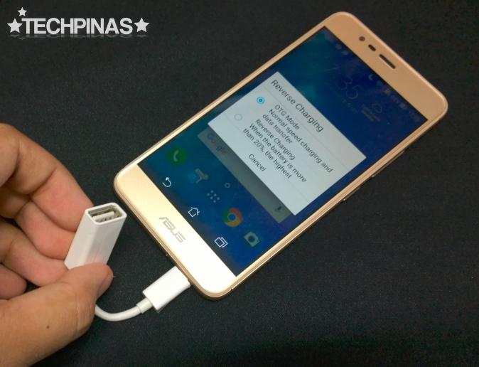 Asus ZenFone 3 Max, Asus Reverse Charging