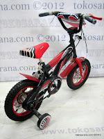 4 Sepeda Anak Erminio 1277 Super Sport 12 Inci
