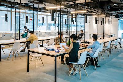 Địa chỉ bán bàn ghế setup văn phòng co-working space tại HCM - 4