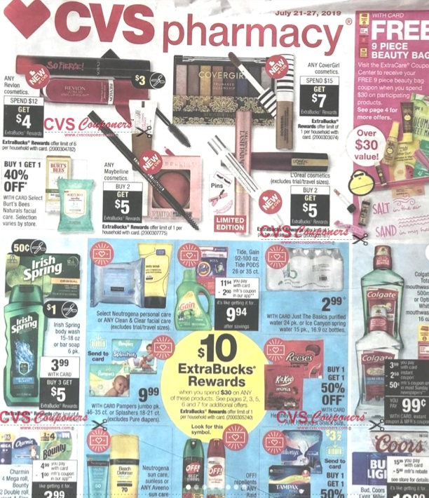 CVS Weekly Ad Preview 721-727 - Page-1