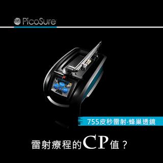 【755皮秒雷射‧蜂巢式透鏡】雷射療程的CP值?