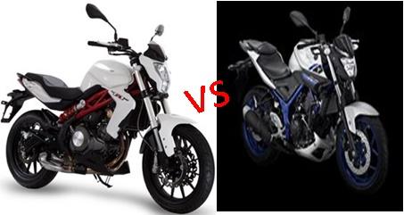 Benelli TNT 250 vs Yamaha MT25, mana lebih unggul ?