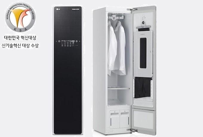[2015] Tủ giặt khô LG Styler S3RF (LG Việt Nam) - màu nâu sang trọng