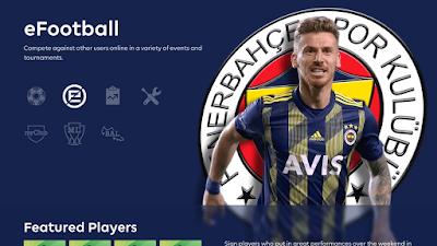PES 2020 Fenerbahçe SK Menu Mod by Hawke
