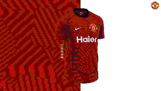 gambar ringan jersey bocoran manchester united musim 2020-2021 hme
