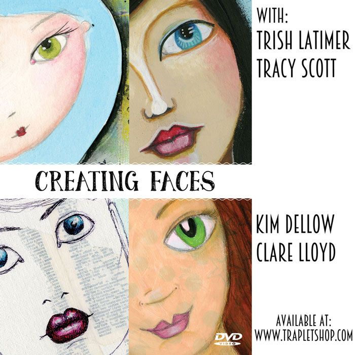 Creating Faces video with Kim Dellow