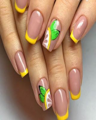 Diseño de uñas de VERANO originales tumblr que estan de MODA
