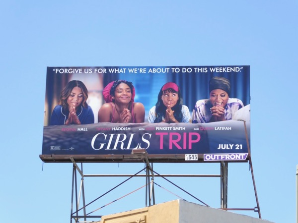 Girls Trip film billboard