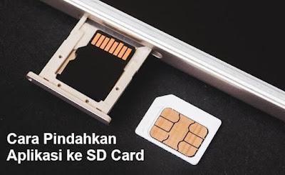 cara pindah aplikasi ke sd card