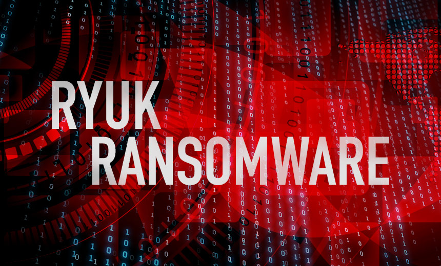 NCSC Issued an Emergency Alert for Ryuk Ransomware that Actively Attacks on Global Organizations  - RYUK - Ryuk Ransomware that Actively Attacks on Global Organizations