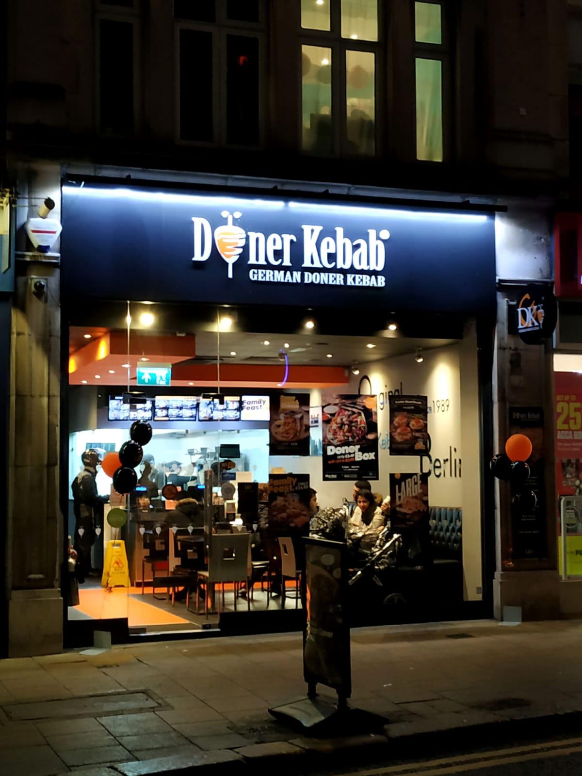 THE LUXURY DONER KEBAB DONE RIGHT AT GERMAN DONER KEBAB IN CROYDON