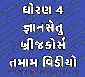 Std-4: Bridge Course, Class Readiness (Gyansetu) Program Live Videos on DD Girnar Youtube By Gujarat E-Class SSA, Samagra Shiksha