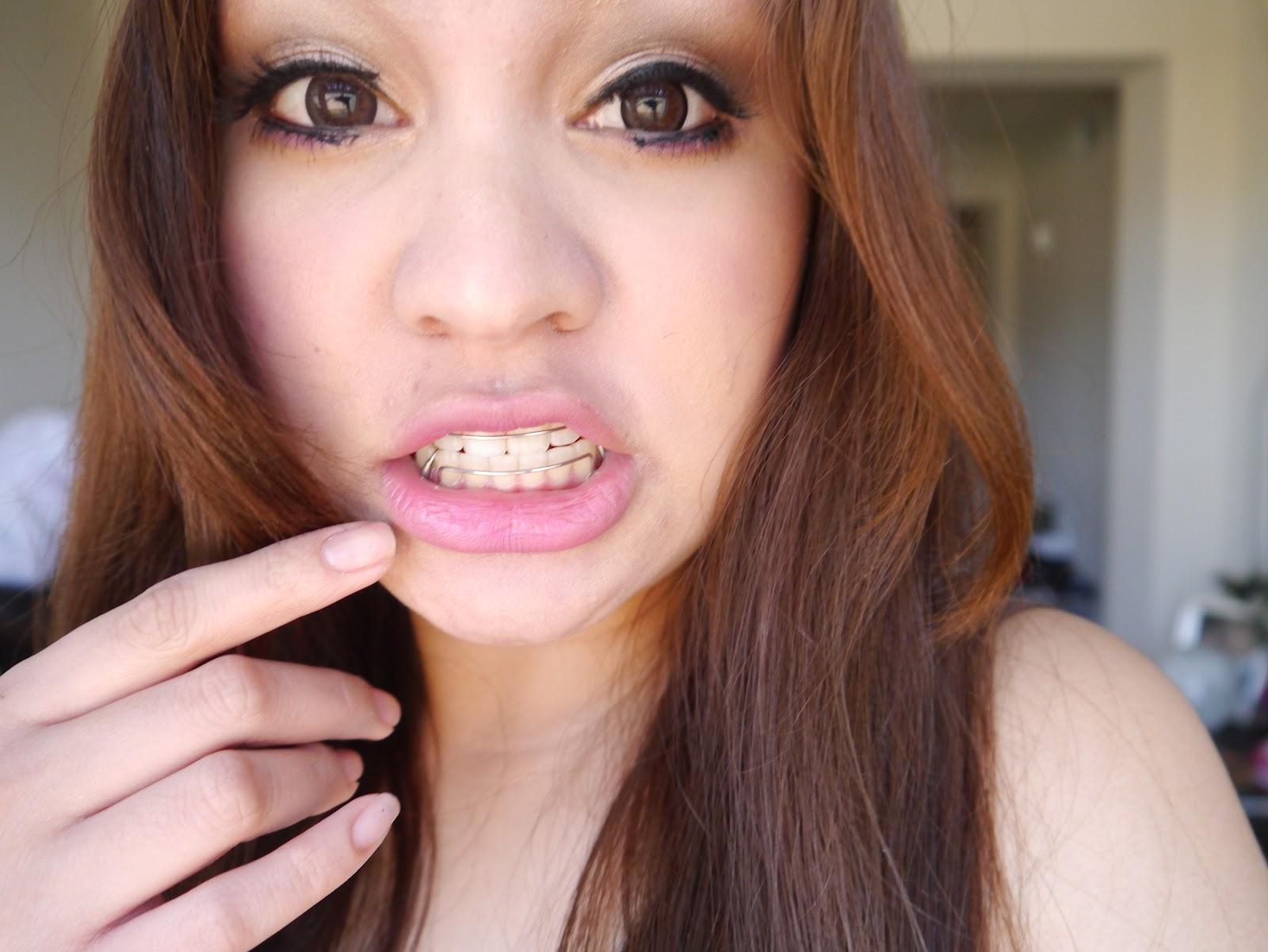 Cum on my teeth