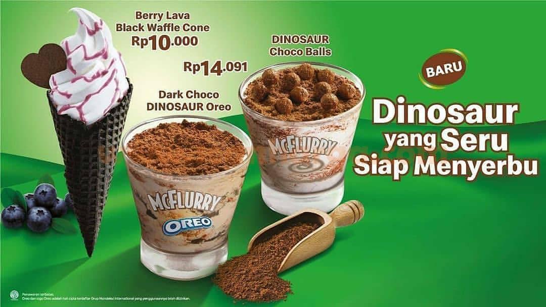 McDonalds Promo Menu Baru Paket Dinosaur Harga Mulai Rp 10.000